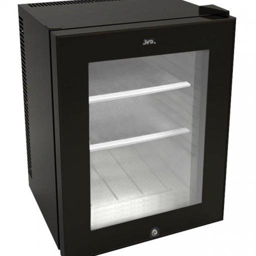 Frigorífico Minibar con puerta de cristal JVD