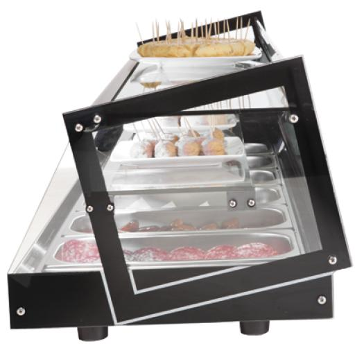Vitrina refrigerada para tapas de 3 pisos Cubik Worldmai [1]