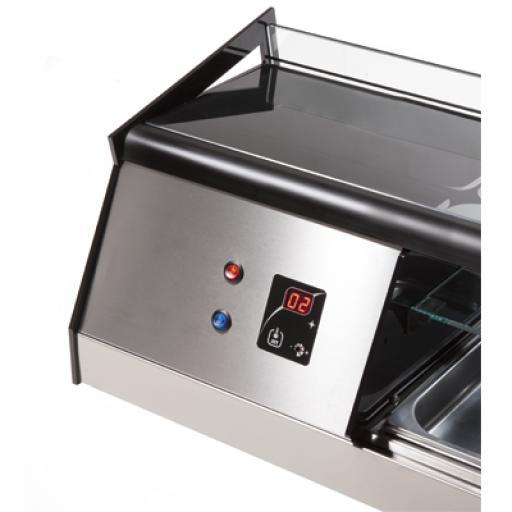 Vitrina refrigerada para tapas de 3 pisos Cubik Worldmai [2]