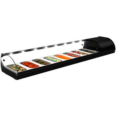 Vitrina refrigerada para tapas de 1 piso Worldmai