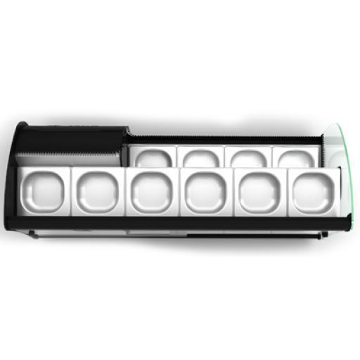 Vitrina para tapas con los 2 pisos refrigerados Worldmai [2]