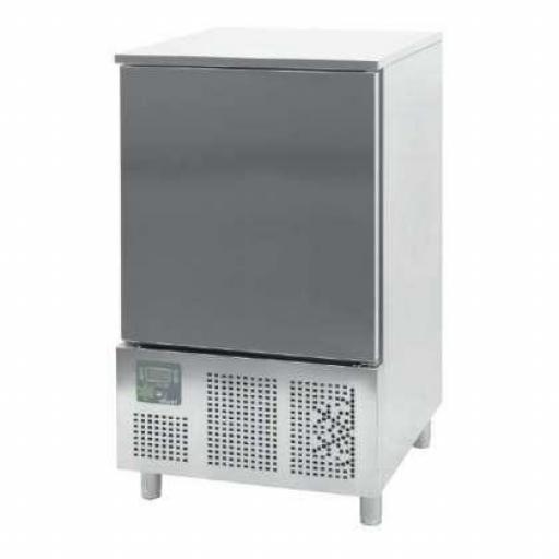 Abatidor de temperatura Mixto de 10 bandejas GN1/1 o 60x40cm Línea Córdoba CR101