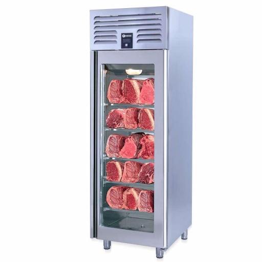Cava de maduración de carne en acero inoxidable 610L. Línea Estambul DAG610-LD