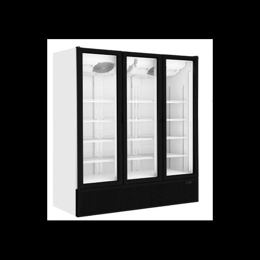 Expositor refrigerado de 3 puertas de cristal pivotantes S1500