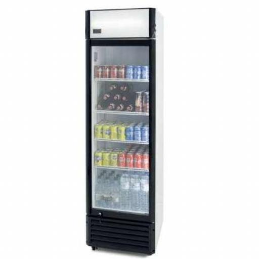 Expositor refrigerado Subcero 360 litros Línea Pekin SZ360