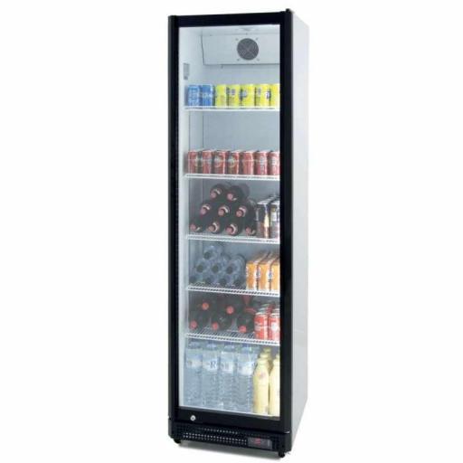 Armario expositor refrigerado 410 litros puerta de vidrio Pekin CS410NS