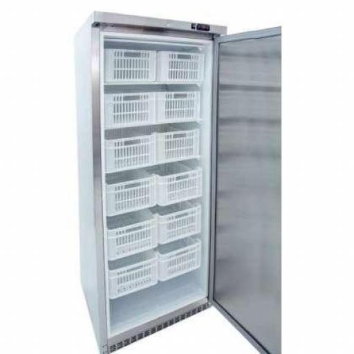 Armario congelador de acero inoxidable 600L. y 12 cajones Línea Córdoba ACCH600I-C