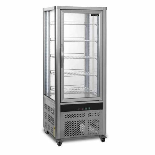 Armario refrigerado ventilado total 4 caras de cristal Viborg UPD200-I