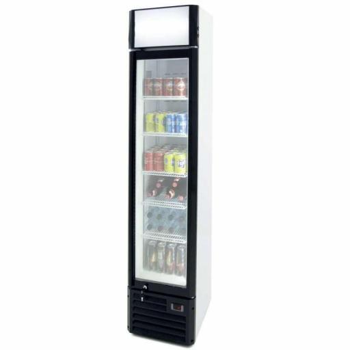Armario refrigerado Slim Line Línea Pekín de 160 litros CSL160