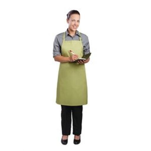 Delantal con peto cuello ajustable Colour by Chef Works