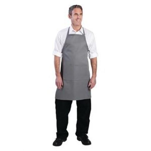 Delantal con peto cuello ajustable Colour by Chef Works [2]