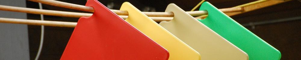 Tablas de cortar codificadas por colores. ¿Qué significan los colores?