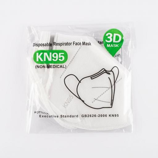 Caja de 100 mascarillas respiratorias KN95 10GB2626 [2]