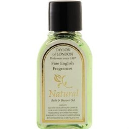 Amenities: Gel de baño Natural 30ml. (Caja de 250) CB557