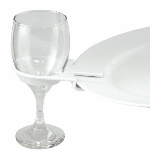Caja de 50 soportes para copas de vino Olympia CB718