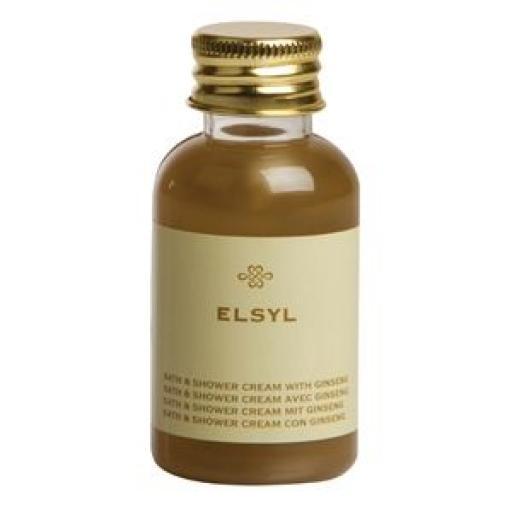 Amenities: Crema de baño Elsyl 40ml. (Caja de 50) CC497 [0]