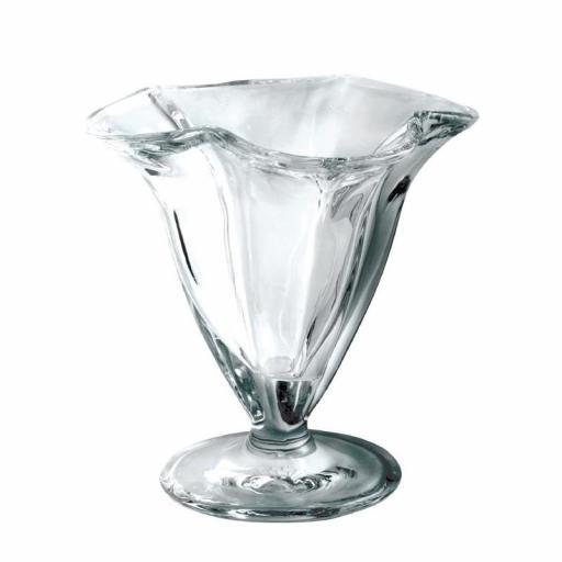 Juego de 6 vasos de cristal para helado Olympia CC905