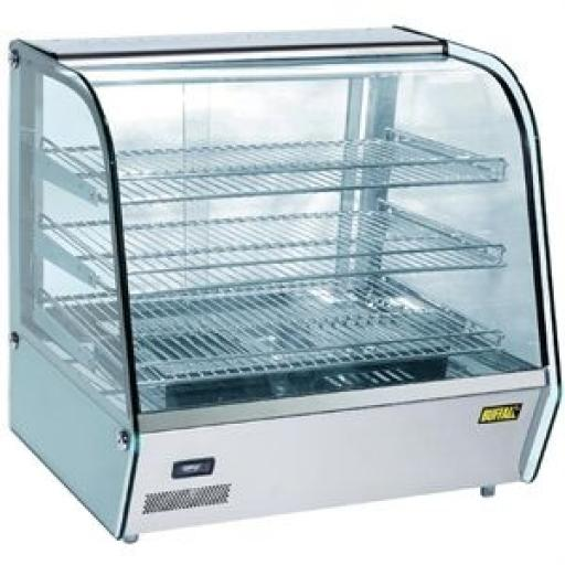 Vitrina caliente para vending 120L. Buffalo CD231