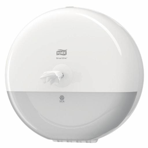 Dispensador de papel higiénico en hoja Smart One Tork CD506 [0]