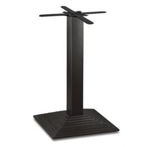 Pie de mesa de hierro fundido Bolero de 720mm. de alto y 425mm. de base CE153