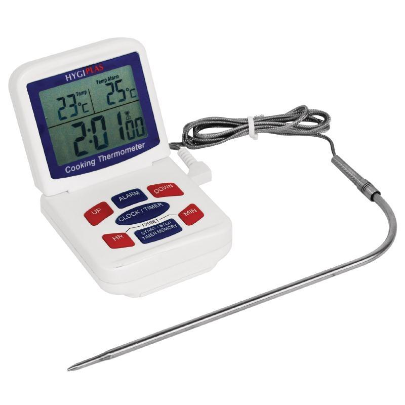 Termómetro digital para hornos Hygiplas CE399