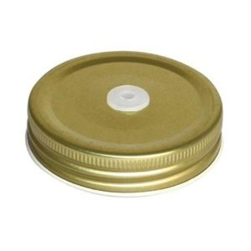 Juego de 12 tapas a rosca con agujero para Jarra Retro Olympia CE679