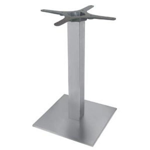 Pie de mesa de acero inox Bolero de 720mm de alto y 430mm de base CF157