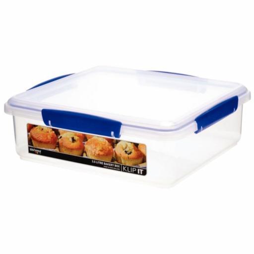 Contenedor de almacenaje de alimentos 3,5L. Sistema Klip it CF959