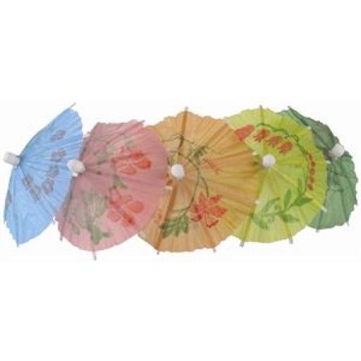 Sombrillas de papel en colores surtidos (Lote de 144) CL443 [1]