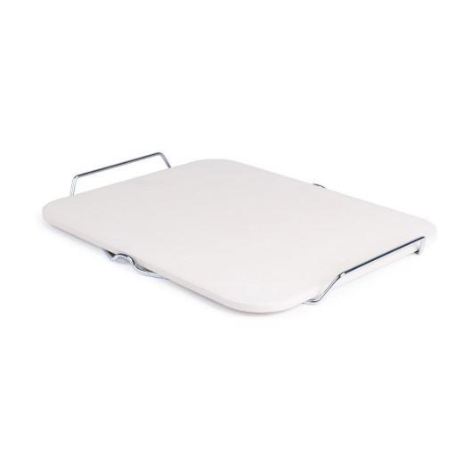 Piedra rectangular para pizza con soporte CL713 [1]