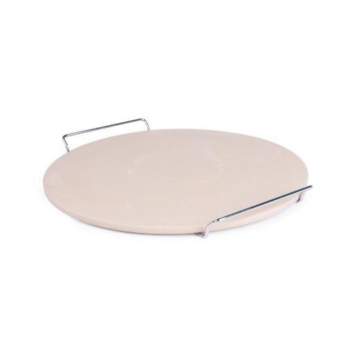 Piedra redonda para pizza con soporte CL714