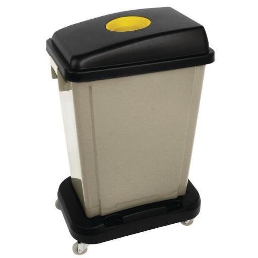 Tapa de cubo de basura Jantex CK960 para reciclaje  [2]