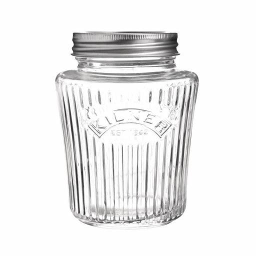 Bote de cristal con cierre hermético 500ml Kilner CN671