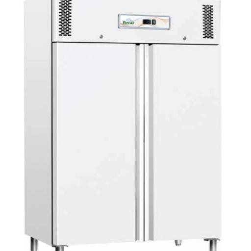Armario congelador lacado blanco compatible GN2/1 de 1200L Forcar G-GNB1200BT-FC