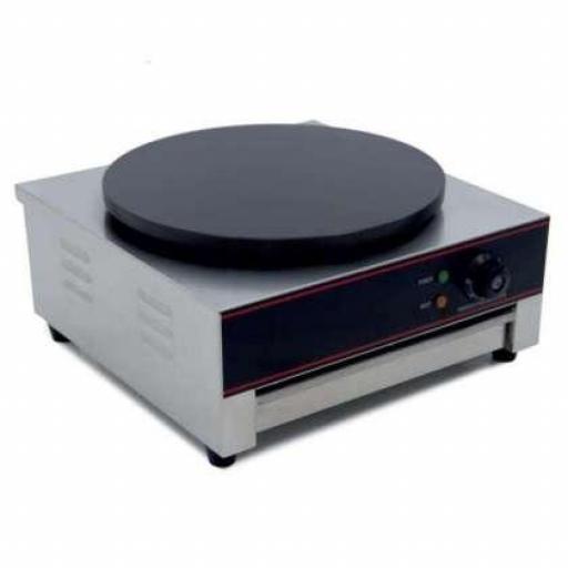 Crepera eléctrica de 3kW y plato de cocción de 40(Ø)cm Línea Pekín HCM1