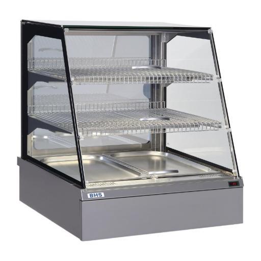 Expositor refrigerado de cristal compatible Gastronorm 2/1 CT020