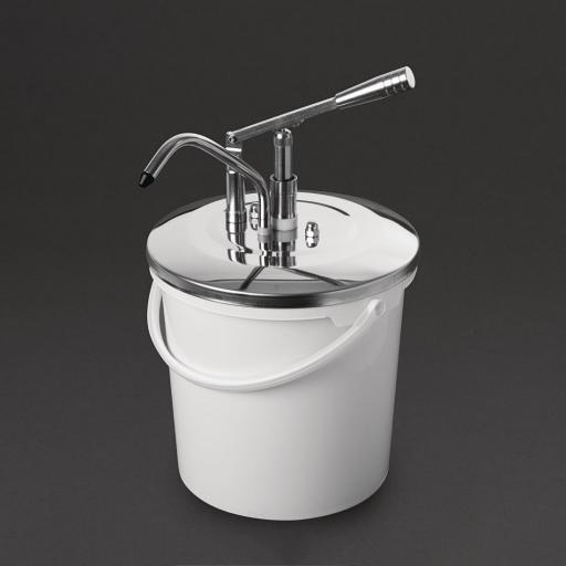 Dispensador de salsa de 10 litros mediante palanca Schneider DA362