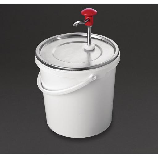 Dispensador de salsa de 10 litros mediante bomba Schneider DA363
