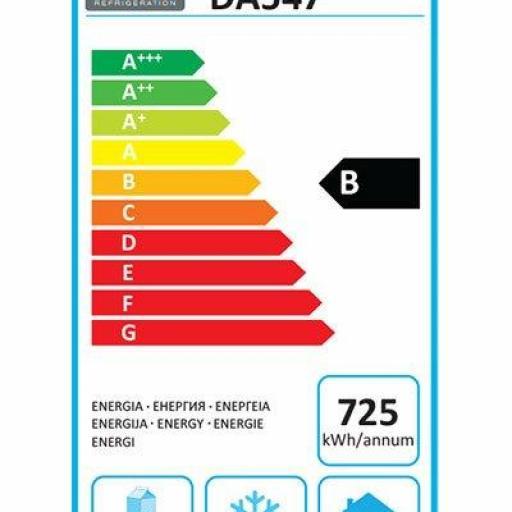 Mesa fría de 4 cajones compatibles Gastronorm 1/1 Polar DA547 [3]