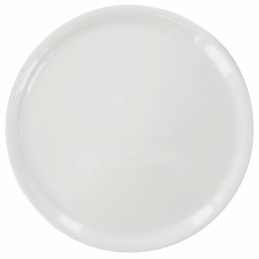 Juego de 6 platos de porcelana para pizza Napoli Saturnia