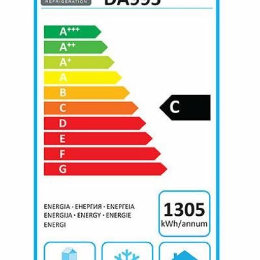 Mueble frío de 1 cajón compatible 3xGN1/1 con opción de frío o congelación Polar Serie U DA995 [3]
