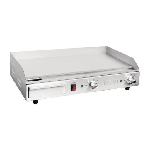 Plancha eléctrica de sobremesa profesional hostelería Buffalo DB167