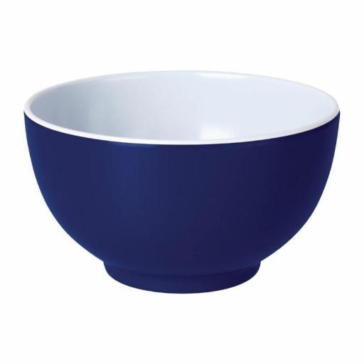 Juego de 6 cuencos de melamina color azul Gala Kristallon Olympia DE608