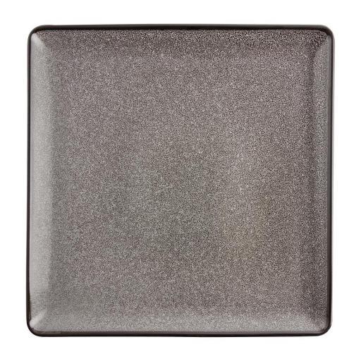 Juego de 4 platos cuadrados 265x265mm Olympia Mineral DF173