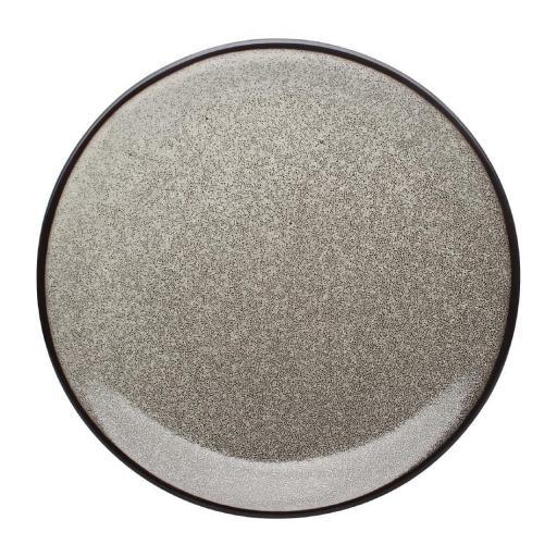 Juego de 6 platos llanos coupe 230(Ø)mm Olympia Mineral DF183