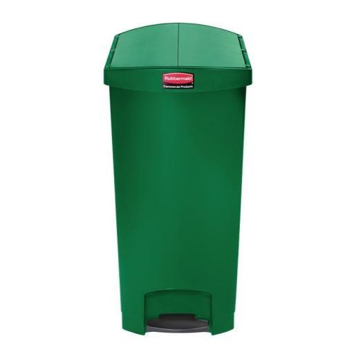 Cubo de basura de polipropileno de pedal 90L. Rubbermaid Slim Jim [2]
