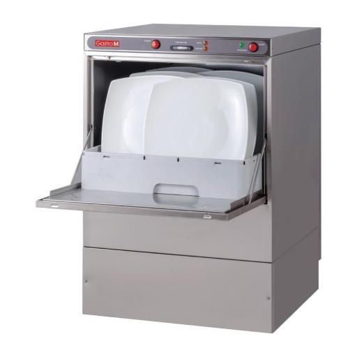 Lavavajillas de 50x50cm con bomba de vaciado y dosificador de jabón Gastro M Maestro