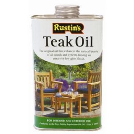 Aceite para madera teka Rustins DL476