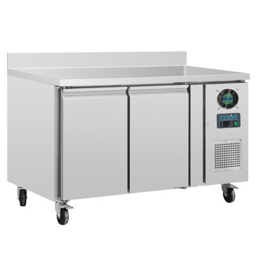 Mostrador congelador 2 puertas 282 litros 700mm. fondo con peto Polar DL916 [2]