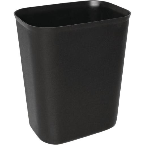 Cubo papelera rectangular de polipropileno Bolero 12 litros DN803